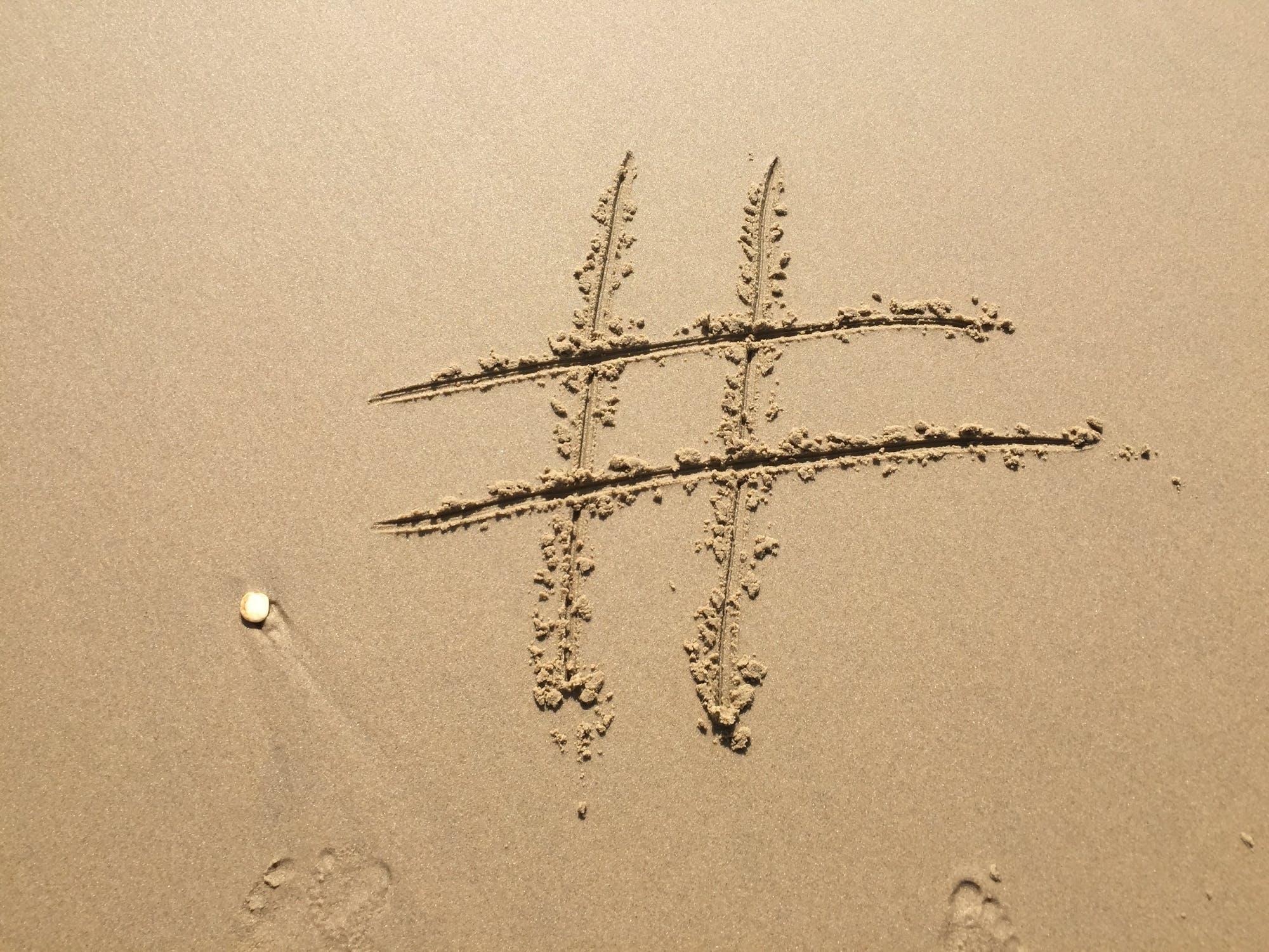 Hashtag - explora marketing